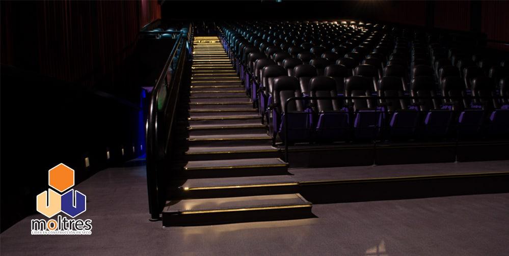 Pisos vinilicos en rollo simil alfombra proyecto cine - Instalacion piso vinilico en rollo ...